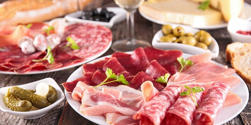 salumi e carne di maiale